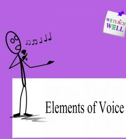 Elements of voice presentation