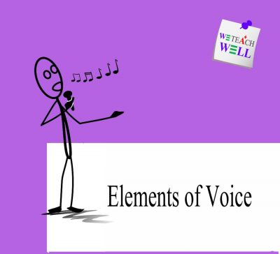 Elements of voice presentation